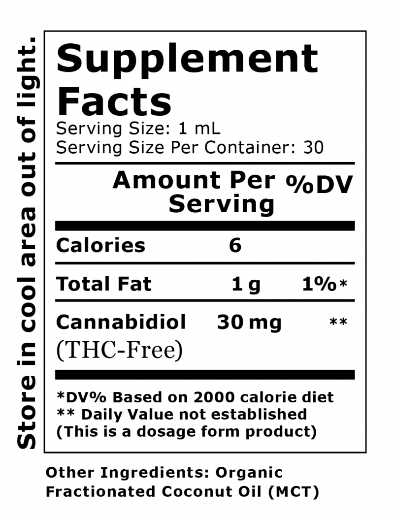 Primary Green CBD Flavorless 900 mg