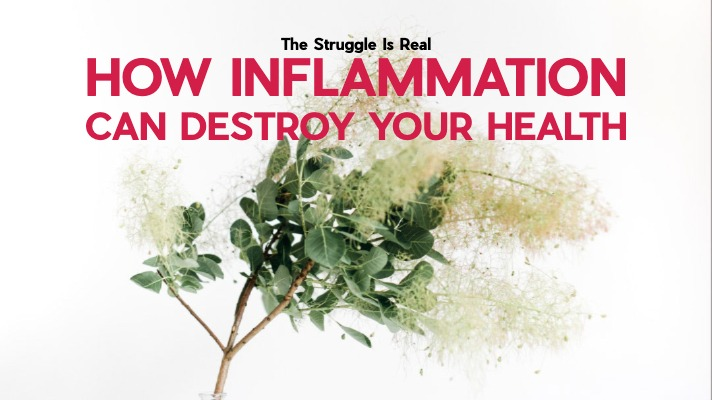 How Inflammation Can Destroy Your Health